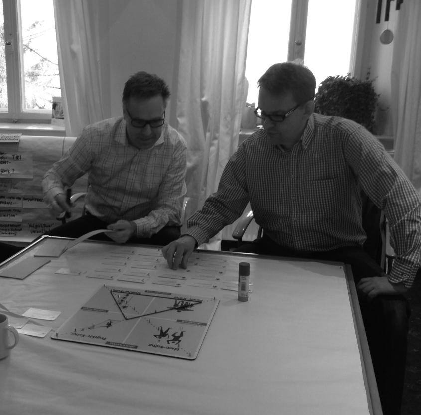 Mit meinem Geschäftspartner Dr. Nikolaus Poscharsky (Institut für Marketing-Innovationen) während der Ausbildung für den Kulturprofil-Indikator bei der ComTeam AG am schönen Tegernsee