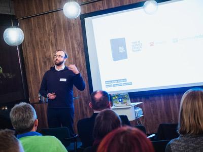 """Marc Stickdorn, Autor von """"This is Service Design Thinking"""""""