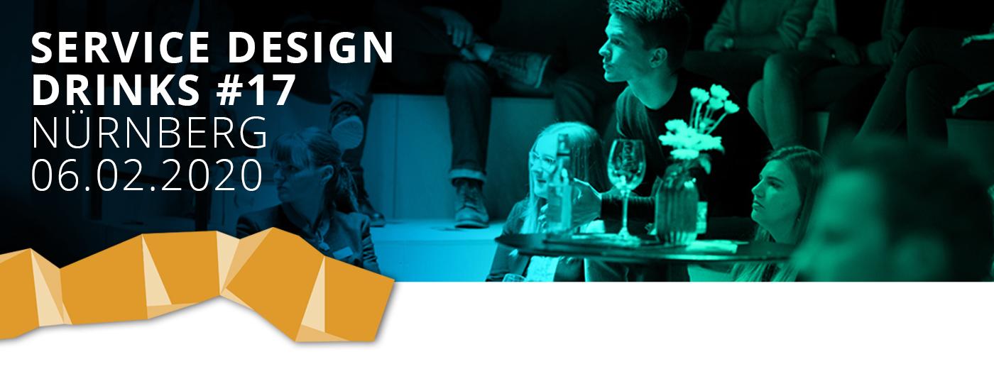 Unsere Service Design Drinks #17 fanden am 06 Februar 2020 statt