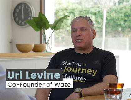 Uri Levine Waze
