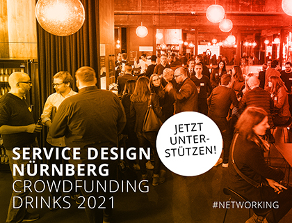 Crowdfunding Service Design Drinks Nürnberg