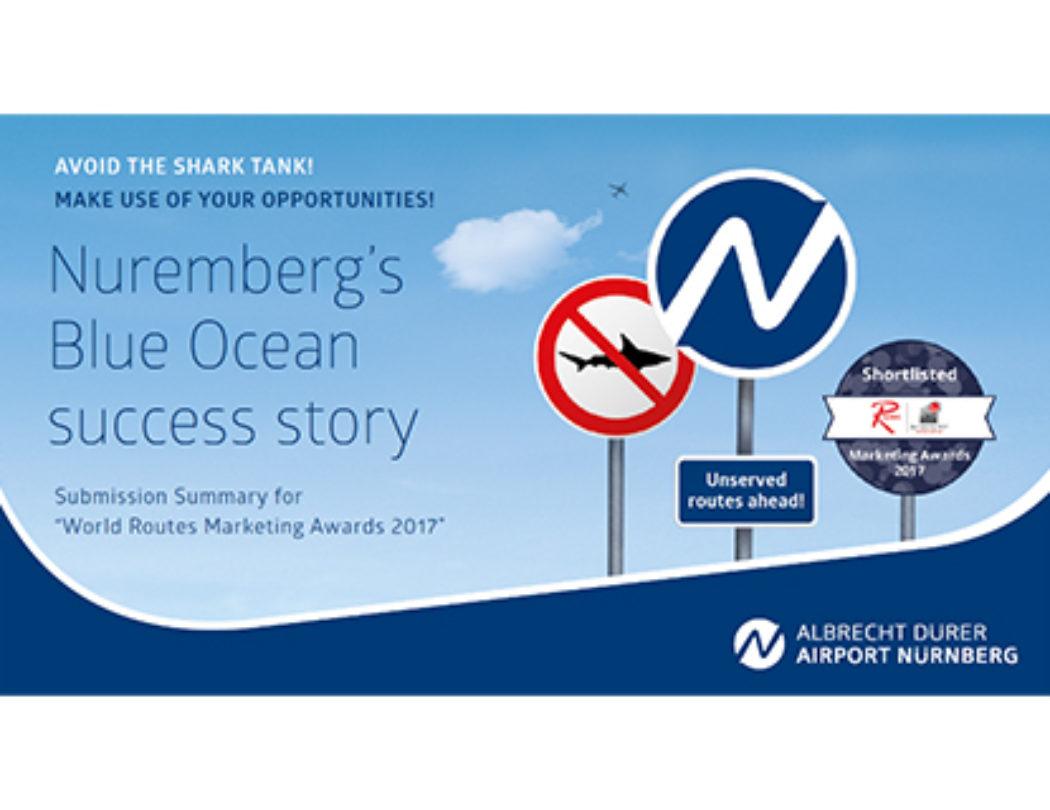Die Blue Ocean Strategie: Der Airport Nürnberg erfolgreich im Blauen Ozean
